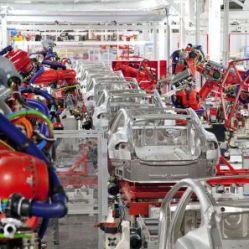 robots Tesla