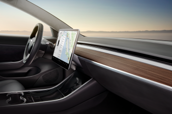 Model 3 - Interior Dash - Desert